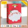 Bolsa de papel, bolsa de papel del viejo hombre de la Navidad, bolsa de papel del regalo