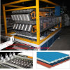 プラスチックPVC合成の屋根ふきシートの放出Line/PVCの波のタイル機械
