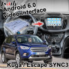 Android 6.0 Cuadro de navegación GPS para Ford Sync 3 Kuga / escapar de la interfaz de vídeo