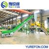 세척하는 PP PE HDPE LDPE 필름 기계, 선을 재생하는 길쌈된 부대 재생