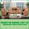 Sofa de Recliner du cuir 1+2+3 de meubles modulaires de capitonnage