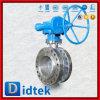 Fornitore di derivazione della scatola ingranaggi della valvola a farfalla della flangia CF8m di triplo di Didtek