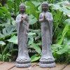 정원 로터스에 가정 훈장 수지 자는 Buddha