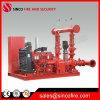Bomba de fuego embalada Diesel+Electric+Jockey+Controller de Nfpa 20