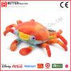 Jouet mou de la peluche En71 de crabe fait sur commande de peluche pour le cadeau de gosses