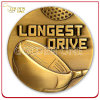 Монетка металла возможности золота 3D промотирования изготовленный на заказ античная
