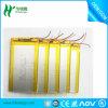 3.7V de Navulbare Batterij van het Polymeer van het 1000mAhLithium met PCB