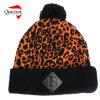 Leopordのジャカード帽子の帽子
