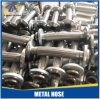 Slang van het Flexibele Metaal van het roestvrij staal de Ingewikkelde/Golf 304 Gevlechte