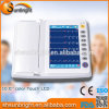 Ce&FDA Aprobó digital portátil de 12 canales de ECG/EKG Sol-8122