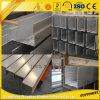U-Profil en aluminium d'aluminium de profilé en u de la qualité 6063t5