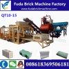 Grosse Höhlung-Block-Maschine der Größen-Maschinen-Qt10-15 für die Herstellung des Blockes