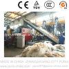 Lavadora de reciclaje plástica para la película agrícola de los PP del PE inútil