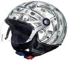 オートバイは高品質のシルクスクリーンの個人化されたヘルメットを分ける