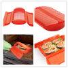 Контейнер/коробка/случай пара силикона пластичного материала использования микроволны