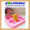 6 Rectangle de la cavité du moule de bricolage de savon à base de silicone