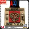 Zink-Legierung Doppelt-Ging Adler-Russland-Sport-Medaille voran