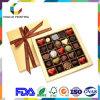 Коробка шоколада качества еды картона цены по прейскуранту завода-изготовителя