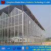 ローズのきゅうりのためのガラス蓋の物質的な温室