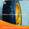 Rotella di gomma popolare 3.50-8 della riga della barra di rotella del mercato della Russia