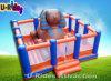 Neuer Entwurfs-Sphinx-aufblasbarer Prahler-aufblasbare springende Schlossaufblasbare Moonwalk-Miete