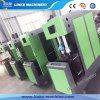Semi-automática a 2 Cavidad 600bph mascotas Máquina de soplado de botellas