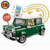 PlastikMini Cooper-Auto blockt vorbildliches Spielzeug für Kinder