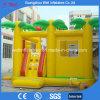 Желтый надувной замок с прыгающими мячами слайд-Combo