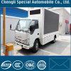 Caminhão móvel ao ar livre móvel da tela do diodo emissor de luz do frame de aço de liga de 4X2 Isuzu