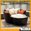 옥외 실내 정원 안뜰 가구 등나무 침대 겸용 소파 속이는 Lounger 로비 침대