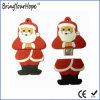 Azionamento di cuoio dell'istantaneo del USB di stile del PVC il Babbo Natale (XH-USB-037)