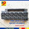 Cabeça de cilindro do motor do motor Qsb6.7 6D107 PC200-8 da máquina escavadora para KOMATSU