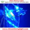 Luzes desobstruídas transparentes do diodo emissor de luz da decoração do feriado do Natal do fio