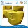 Tuyau jaune d'irrigation de ferme de PVC