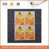 Alta calidad de impresión del código de barras escáner de impresión de papel mate de la etiqueta engomada