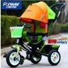 2016新しいDesign Kids Tricycle、GreenのKids Troller Pedal Bike