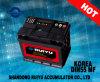 12V Coreia 55ah Highquality SMF Car Battery Auto Battery