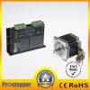 Tipo del connettore del NEMA 24 - 2 /3 di ibrido di fase che fa un passo/motore punto/passo passo per la macchina per cucire di CNC