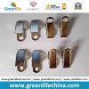 Accesorios lisos de la divisa de la manera del clip del metal del dogo de la fuente barata de la fábrica