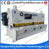 Da placa hidráulica da guilhotina do CNC de QC11k/Y corte de corte QC11y 6*4000mm do metal da máquina
