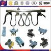 Система кабеля следа c вися для электрической лебедки крана