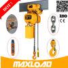 Certificación ISO Garantía de 2 años Ligera 2 Ton polipasto eléctrico de cadena