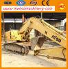 Máquina usada de la construcción del excavador de la correa eslabonada de KOMATSU (PC200-6)