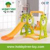 2017 Orso stile caldo Giocattoli di plastica Fmaily bambino con diapositive (HBS17020D)