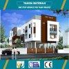 Casa prefabricada del panel concreto ligero del marco de acero AAC para la venta