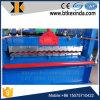Máquinas de chapa de telhado galvanizado ondulado