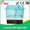 Mini incubateur Hatcher des oeufs 4PCS hachant le prix de machine