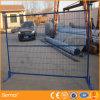 O pó revestiu o painel provisório da cerca de 6 ' x9'safety