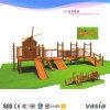 جديدة تصميم أطفال شعبيّة ملعب خشبيّة جانبا [فسا] [فس2-6107ا]