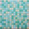 浴室および台所のためのガラスタイルの混合物のモザイク